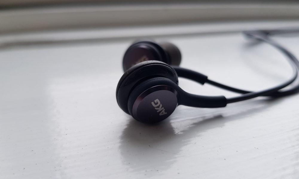 Test af AKG In-Ear høretelefoner fra Samsung Galaxy S8